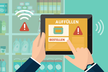 Use Case 1 - Smart Shelf zur Bestandsüberwachung